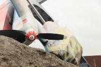 Владимир Груздев проинспектировал строительство мемориала «Защитникам неба Отечества». 20 июля 2015, Фото: 1