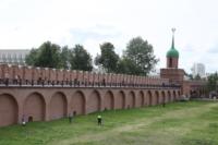 Установка шпиля на колокольню Тульского кремля, Фото: 37