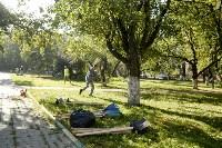 Субботник в Пролетарском округе Тулы, Фото: 17
