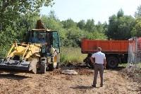Ликвидация разлива нефтепродуктов в Комарках, Фото: 1