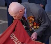 Тульский ветеран и боевое знамя в Москве. 7.05.2015, Фото: 9