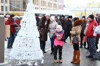 Арт-объекты на площади Ленина, 5.01.2015, Фото: 26