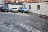 Заледеневшая лужа у дома №3 по ул. Лейтейзена, Фото: 14