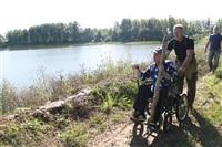 Тульские инвалиды-колясочники выехали на рыбалку, Фото: 2