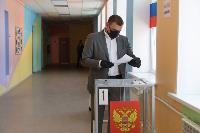 Алексей Дюмин проголосовал по поправкам в Конституцию, Фото: 7