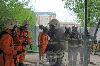 В Туле сотрудники МЧС эвакуировали госпитали госпиталь для больных коронавирусом, Фото: 48
