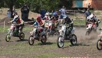 Юные мотоциклисты соревновались в мотокроссе в Новомосковске, Фото: 129