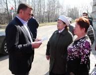 Учащиеся Волхонщинской средней школы показали Алексею Дюмину школьный музей боевой славы, Фото: 13