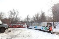 ДТП с участием двух трамваев. , Фото: 17