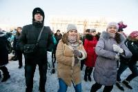 Физкультминутка на площади Ленина. 27.12.2014, Фото: 29