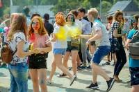 В Туле прошел фестиваль красок и летнего настроения, Фото: 43