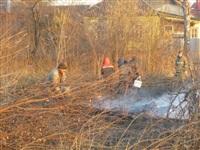 Возгорание сухой травы на ул.Комбайновая, Фото: 10