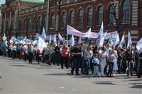 Тульская Федерация профсоюзов провела митинг и первомайское шествие. 1.05.2014, Фото: 24