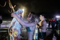 Крещенские купания в Центральном парке Тулы-2021, Фото: 93