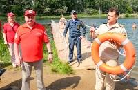 МЧС обучает детей спасать людей на воде, Фото: 12