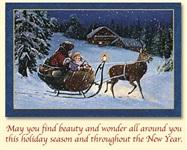 Старинные рождественские открытки, Фото: 3