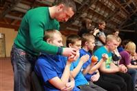 В Туле прошло необычное занятие по баскетболу для детей-аутистов, Фото: 50