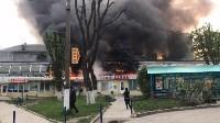 """Сгорел рынок """"Салют"""", Фото: 19"""