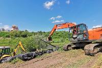 В Тульской области началась расчистка русел Оки и Упы, Фото: 38