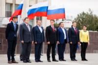 Велопробег в цветах российского флага, Фото: 14