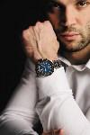Манучар Пипия, часы EDOX., Фото: 1