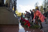 В Туле открыли памятник экипажу танка Т-34, Фото: 42