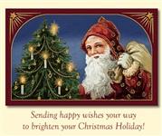 Старинные рождественские открытки, Фото: 19