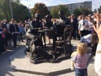 Открытие скульптуры «Тульское чаепитие»., Фото: 1