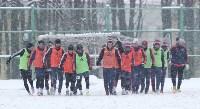 «Арсенал» готовится на снежном поле к игре против «Тосно», Фото: 25
