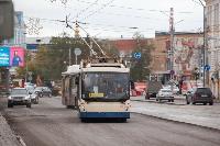 На ул. Советской в Туле убрали дорожные ограждения с трамвайных путей, Фото: 12