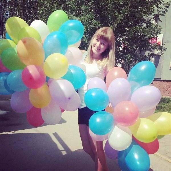 Никто не может грустить, когда у него есть воздушный шарик!🎈🎈🎈🎈🎈🎈🎈