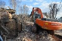 Снос аварийного дома на улице Октябрьской, Фото: 51