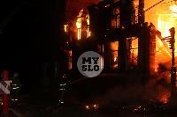 Крупный ночной пожар в Туле, Фото: 30