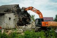 В Плеханово убирают незаконные строения, Фото: 50