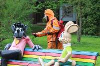 Тульские спасатели продезинфицировали Центральный парк, Фото: 8