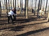 Субботник в Комсомольском парке с Владимиром Груздевым, 11.04.2014, Фото: 2