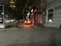 На ул. Первомайской иномарка въехала в офис Tele2, Фото: 6