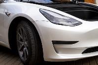 белая Tesla, Фото: 4