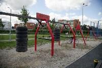 В Туле на набережной Упы открылась уникальная спортплощадка для занятий фитнесом и бодибилдингом, Фото: 8