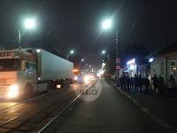 В Пролетарском округе Тулы пробка из-за ДТП с грузовиком и легковушкой, Фото: 1