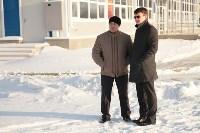 Инспектирование катка в Щёкино. 29.12.2014, Фото: 5