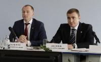 Алексей Дюмин посетил Узловский молочный комбинат, Фото: 5