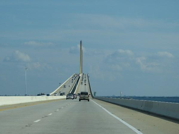 Мост через Мексиканский Залив,США