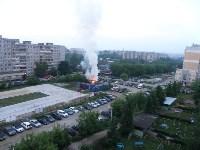 Утром 27 мая в Заречье вспыхнули три иномарки, Фото: 1