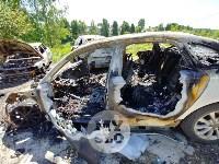 Цыганский конфликт в Туле: ночью подожжены четыре автомобиля, Фото: 15