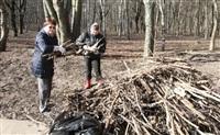 Субботник в Комсомольском парке с Владимиром Груздевым, 11.04.2014, Фото: 29