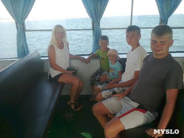 """Фото прислала Светлана Николаева. """"У нас три сыночка и лапочка дочка!"""""""