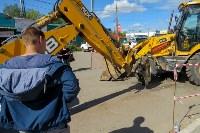 В посёлке Южный стартовали работы по обустройству ливневой канализации, Фото: 6