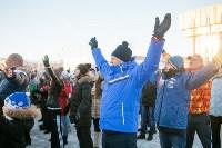 Физкультминутка на площади Ленина. 27.12.2014, Фото: 22