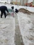 """В Туле вмерзла в лед """"Лада"""", Фото: 4"""